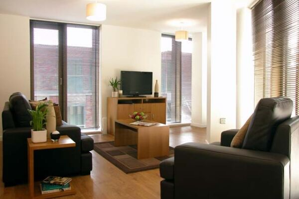 Lounge Area, Paradise Street Serviced Apartments, Liverpool