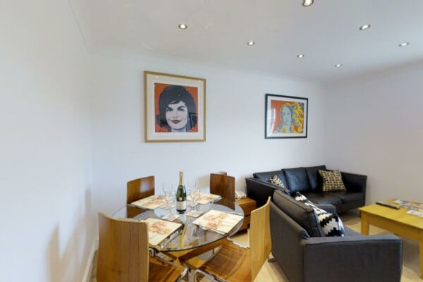 Dining Area, Coronation House Serviced Accommodation, Cambridge